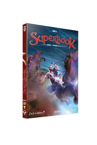 SUPERBOOK TOME 4 -  SAISON 1- EPISODES 10 A 13  - DVD