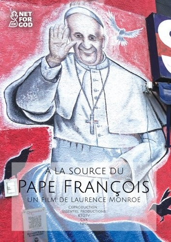 A LA SOURCE DU PAPE FRANCOIS   DVD