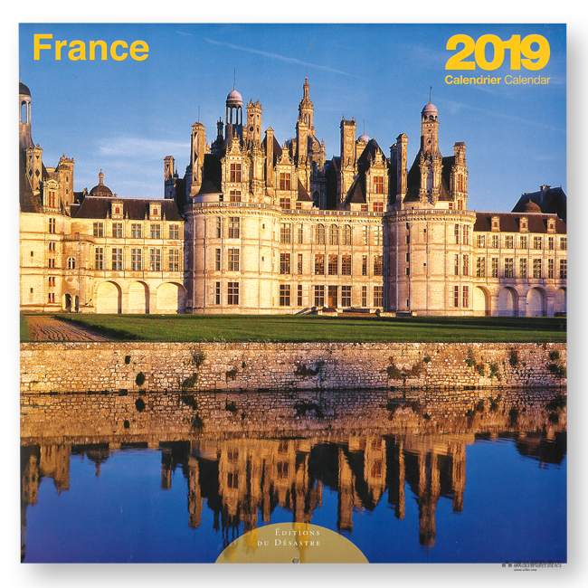 CALENDRIER 2019 30X30 FRANCE