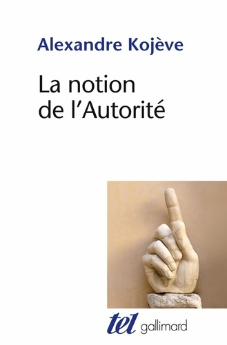 LA NOTION DE L'AUTORITE