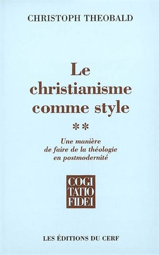 LE CHRISTIANISME COMME STYLE