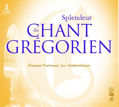 SPLENDEUR DU CHANT GREGORIEN 2 CD