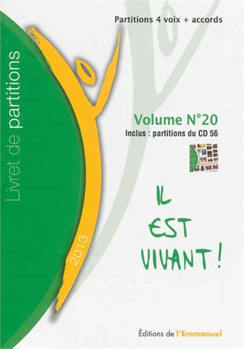 LIVRET DE PARTITIONS N 20   2013