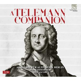 A TELEMAN COMPANION COFFRET CD