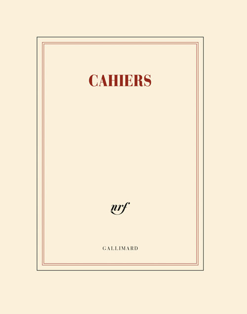 PAPETERIE GALLIMARD CAHIER