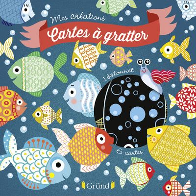CARTES A GRATTER POISSONS D'AVRIL