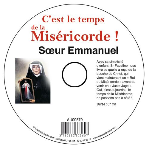 C'EST LE TEMPS DE LA MISERICORDE - CD