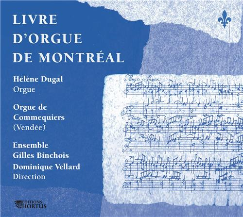 LIVRE D'ORGUE DE MONTREAL - CD