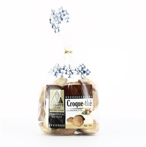 CROQUE-THE AUX NOISETTES, SACHET DE 200 G