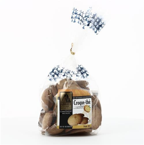 CROQUE-THE A L'ORANGE, SACHET DE 200 G
