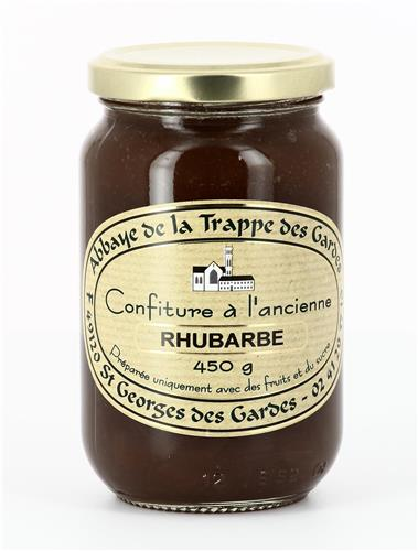 CONFITURE RHUBARBE, POT DE 450G