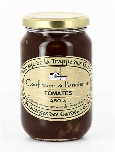 CONFITURE TOMATES, POT DE 450G