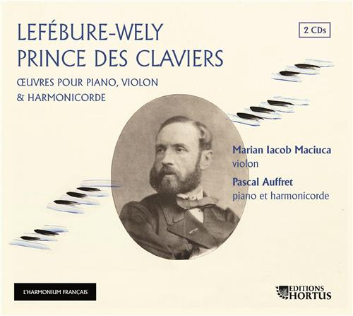 LEFEBURE-WELY PRINCE DES CLAVIERS - CD