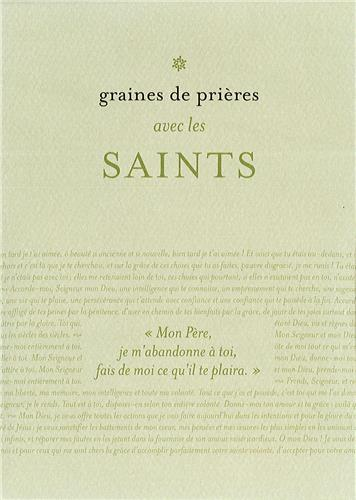 GRAINES DE PRIERES 6 - SAINTS