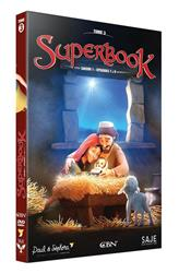 SUPERBOOK TOME 3 - SAISON 1 - EPISODES 7 A 9  - DVD
