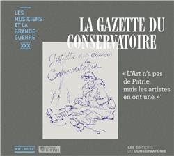 LA GAZETTE DU CONSERVATOIRE   CD