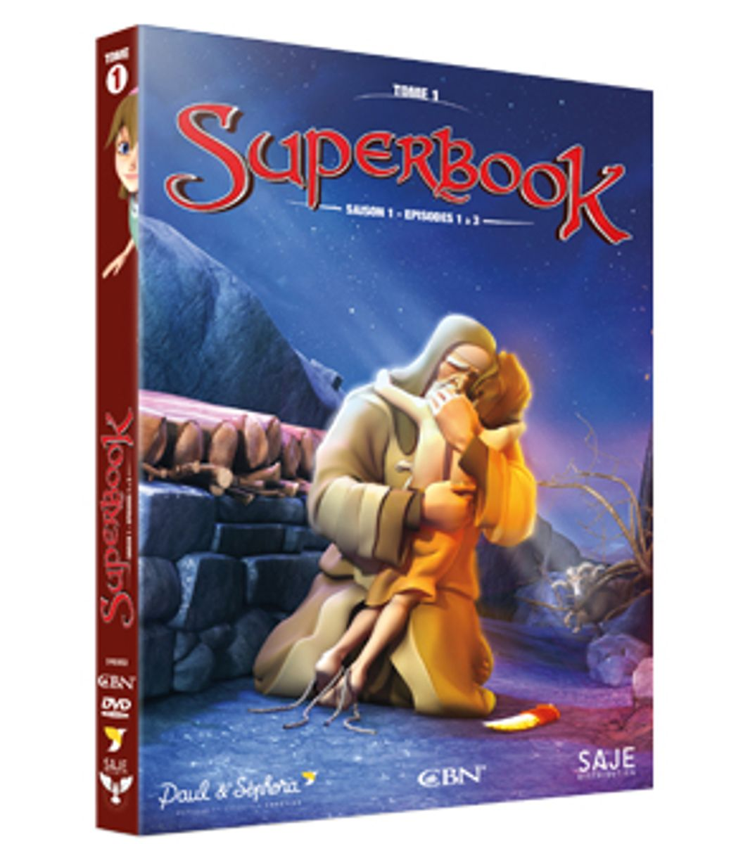 SUPERBOOK  TOME 1 - SAISON 1 - EPISODES 1 A 3 - DVD