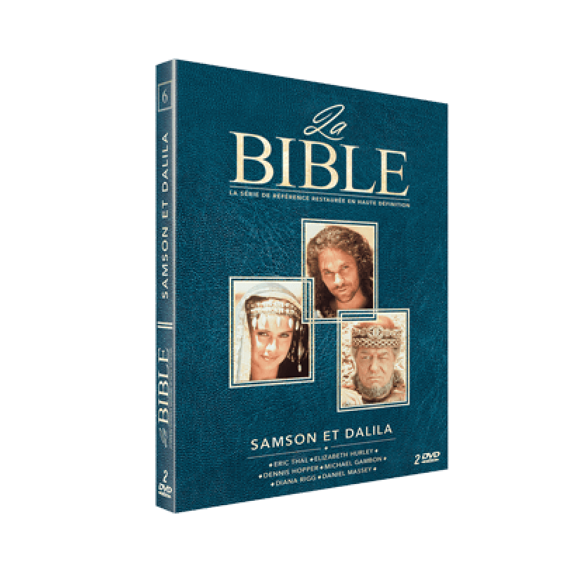 SAMSON ET DALILA  - DVD LA BIBLE - EPISODE 6
