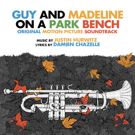 GUY AND MADELINE ON A PARK BENCH - CD