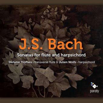BACH SONATAS FOR FLUTE AND HARPE CD